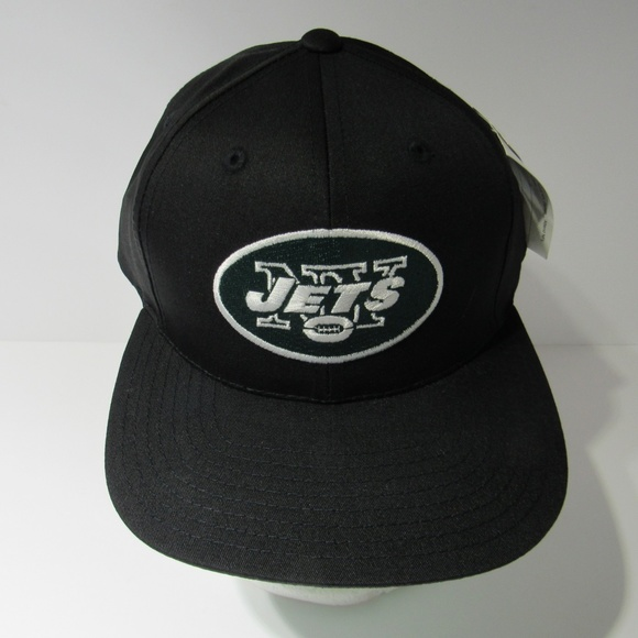 f54e7ab9d ANNCO Accessories | Vintage Nfl 90s Black New York Jets Snapback Cap ...
